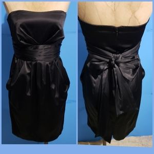 Lauren Conrad Strapless Black Dress W/ Pockets 4